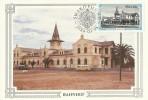 South West Africa 1984 Historic Buildings, Bahnhof, Maximum Card - Unclassified