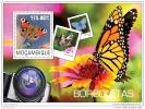 MOZAMBIQUE 2014 ** S/S 1v Butterflies Schmetterlinge Papillons A1503 - Schmetterlinge