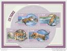 NIGER 2014 ** IMPERFORATED M/S Tigers Tiger Tigres A1450 - Raubkatzen