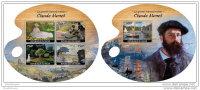 NIGER 2014 ** M/S + S/S Cloude Monet Paintings Gemälde Peintures Pinturas A1450 - Künste
