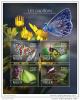 NIGER 2014 ** S/S 4v Butterflies Schmetterlinge Papillons A1504 - Schmetterlinge