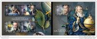 SOLOMON ISLAND 2014 ** M/S + S/S Galileo Galilei A1447 - Astronomie