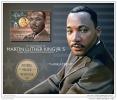SOLOMON ISLAND 2014 ** S/S 1v Martin Luther King Nobel Peace Prize Friedensnobelpreis Nobel De La Paix A1501 - Martin Luther King