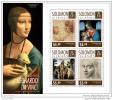SOLOMON ISLAND 2014 ** S/S 4v Leonardo Da Vinci Painter Maler Peintre A1506 - Künste