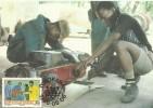 South Africa-Bophuthatswana 1986 Temisano Development, Vocational Training, Maximum Card - Bophuthatswana