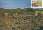 South Africa-Transkei 1985 Soil Conservation, Wall Construction, Maximum Card - Transkei
