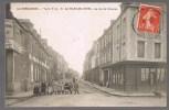 LA HAYE - DU - PUITS . La Rue De Carentan . Animé . - Autres Communes