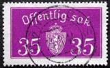 Norway 1933  Minr.17 II   34mm X18,5mm  HØNEFOSS 24-3-1944    (  Lot  C 337 ) - Service