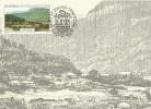 South Africa-Transkei 1986 Port St John.s, View Of The Town 1890s, Maximum Card - Transkei