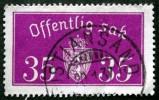 Norway 1933  Minr.17 II   34mm X18,5mm KRISTIANSAND   (  Lot  C 339 ) - Service
