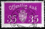 Norway 1933  Minr.17 II   34mm X18,5mm GADERMOE    (  Lot  C 340 ) - Service