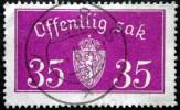 Norway 1933  Minr.17 II   34mm X18,5mm    VOSS  (  Lot  C 343 ) - Service