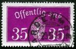 Norway 1933  Minr.17 II   34mm X18,5mm    (  Lot  C 346 ) - Service