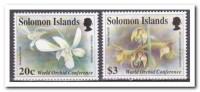 Solomon 1993, Postfris MNH, Flowers, Orchids - Solomoneilanden (1978-...)