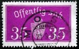 Norway 1933  Minr.17 II   34mm X18,5mm   MOSS 24-9-1936 (  Lot  C 347 ) - Service