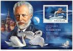 TOGO 2015 ** S/S Pyotr Ilyich Tchaikovsky Composer Piotr Ilich Tchaikovski Compositeur - OFFICIAL ISSUE - F1527 - Musik