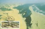 South West Africa 1989 Sand Dunes, Transverse Dunes, Maximum Card - Unclassified
