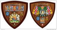 GUINEA BISSAU 2015 ** M/S + S/S Queens Beasts Wappentiere Bêtes De La Reine F1515 - Briefmarken