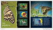 GUINEA REP. 2014 ** M/S + S/S Butterflies Schmetterlinge A1423 - Schmetterlinge