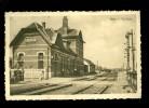 Eine  ( Audenarde  Oudenaarde )  Statie  gare  station