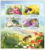 TOGO 2015 ** M/S Bees Bienen - OFFICIAL ISSUE - F1529 - Honeybees
