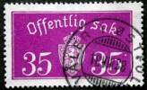 Norway 1933  Minr.17 II   34mm X18,5mm  VÅLER ØSTERFOLD   (  Lot  C 357 ) - Service