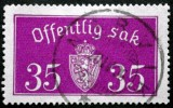 Norway 1933  Minr.17 II   34mm X18,5mm  NARVIK (  Lot  C 358 ) - Service