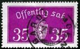 Norway 1933  Minr.17 II   34mm X18,5mm   (  Lot  C 363 ) - Service
