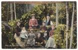 Kentish Hop-Picking, Set Of Pickers Colour Postcard (social History) Postmark 1907 By Hambrock, Kent - Artigianato