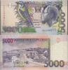 São Tomé  Pick 65 - 65a - 5.000 Dobras  (22-10-1996) UNC - Sao Tome And Principe