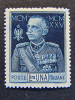"""(N)ITALIA Regno -1925-26- """"Giubileo"""" £. 1 D. 13 1/2 MH* (descrizione) - 1900-44 Victor Emmanuel III"""
