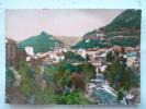 V08-39-B-jura-saint Claude-pont Central Et Le Pain De Sucre-beau Timbre--1954-real Photo- - Saint Claude