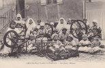 Algérie - Alger - Orphelinat Saint-Charles - Travail Fillettes Filage Rouets - Kinderen