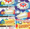 GOLDEN 1006 1007 1008 FLIPPER CARD Us. SET - Italia