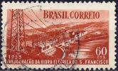 Brazil 1955 - Dam Of Salto Grande ( Mi 867 - YT 615 ) - Brasilien