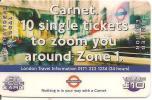 CARTE-PREPAYEE-GB-10£-ET TELECARD-UNDERGROUD-LONDON-TBE-RARE - Royaume-Uni