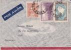 ARGENTINA    LETTRE 1939 AERA   FRANCIA / 6131 - Storia Postale