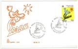 """ITALIA FDC - CAPITOLIUM - ANNO 1996 - 50° ANNIVERSARIO DELLA PRODUZIONE DELLA """"VESPA""""  - PONTEDERA (PI) - - F.D.C."""