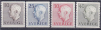 1954  SUEDE  SWEDEN    YT 381 A 384  MICHEL 390a 391a 392a 393a Scott 458   MNH ** LUXE - Sweden
