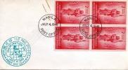 MANILA (Phillipinen) 1946 - FDC Mit 4 X 2 C Blockfrankierung - Philippinen