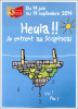 """Publicité """"Heula"""" Expo 2014 Scriptorial D´Avranches - Manche - Normandie - Le Mont Saint Michel - Advertising"""