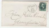 1880s USA  Stamps COVER BOSTON United States - Briefe U. Dokumente