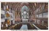 Canada Montreal Notre Dame Church Interior
