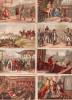 Lot 43 Chromos - Personnages Historiques - Trade Cards