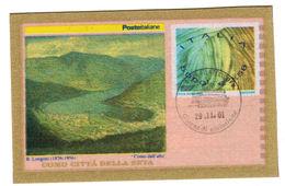 """Italia - 2001 Busta Lettera """"Como Città Della Seta"""" € 2,58  Annullo 1° Giorno - Entiers Postaux"""