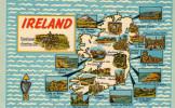 Scenic Map Ireland - Ireland