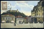 Cpa De Slovénie -- Ljubljana - Dvorni Trg Z Gradom    BB15 - Slovénie