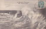 France La Bretagne Pittoresque Etude De Vagues 1904 - Bretagne