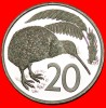 ★KIWI BIRD: NEW ZEALAND ★ 20 CENTS 1979! PROOF! LOW START★ NO RESERVE - Nouvelle-Zélande