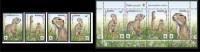 BELARUS 2015 1074-77 Speckled Gopher. WWF - Unused Stamps